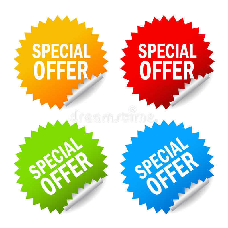 Free Vector Special Offer Royalty Free Stock Image - 27361926