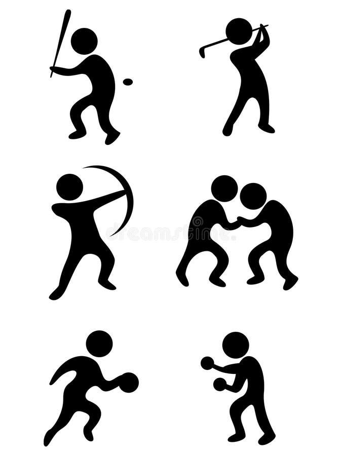 Download Vector Sports Symbols Stock Image - Image: 16275201