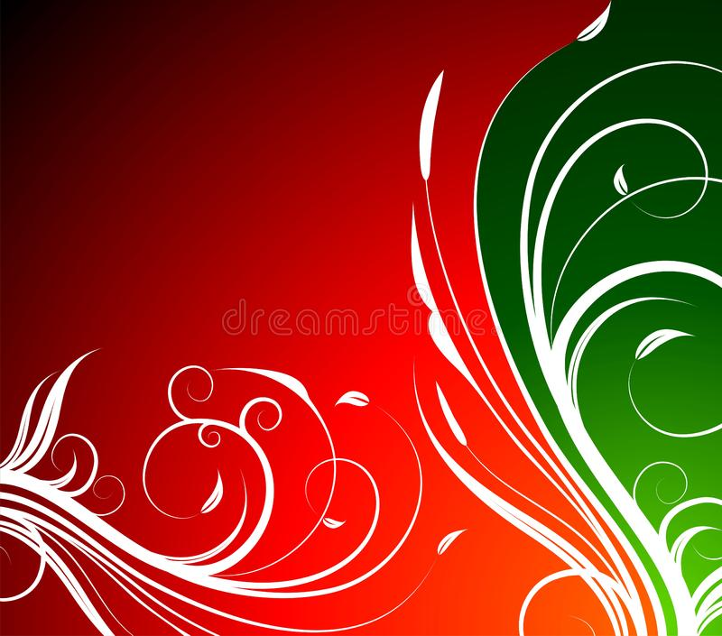 Vector spring floral background stock photo
