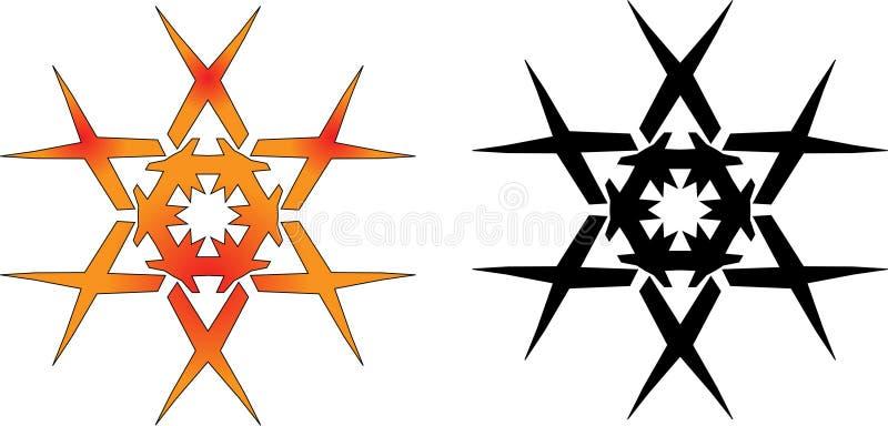 Download Vector star - 1 stock vector. Image of black, orange - 12688673