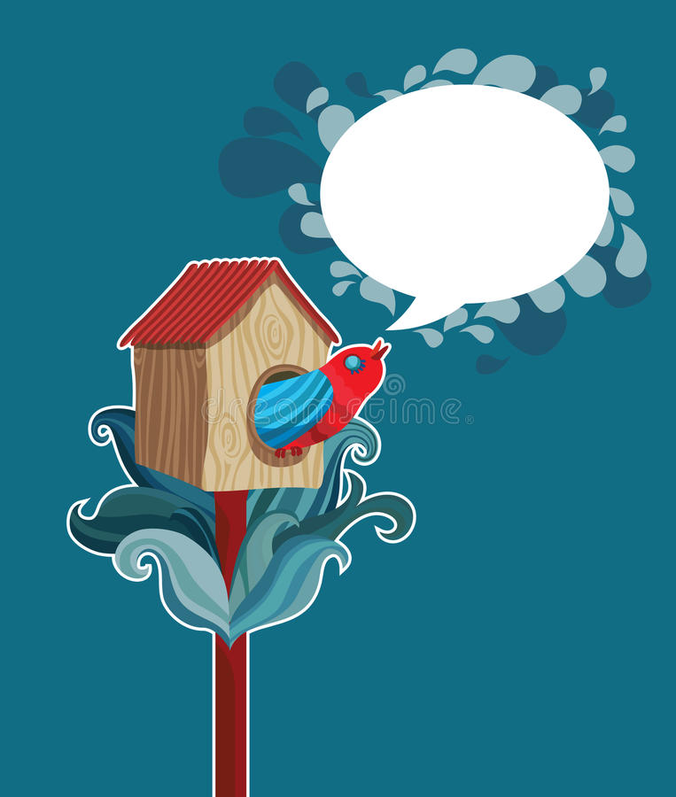 Free Vector Starling-house Stock Image - 15045211