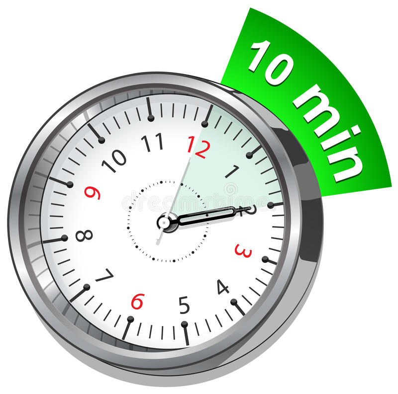 Vector Stopwatch. Classic stopwatch Vector EPS 10. royalty free illustration