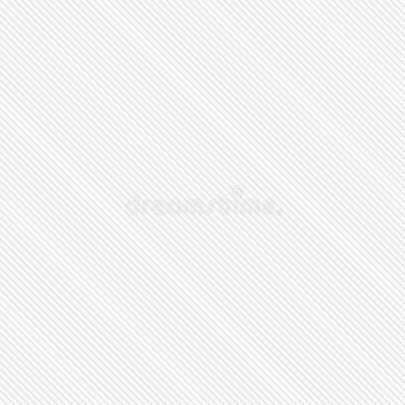 Vector striped seamless texture. Diagonal lines pattern - similar to paper background. Gray design vector illustration