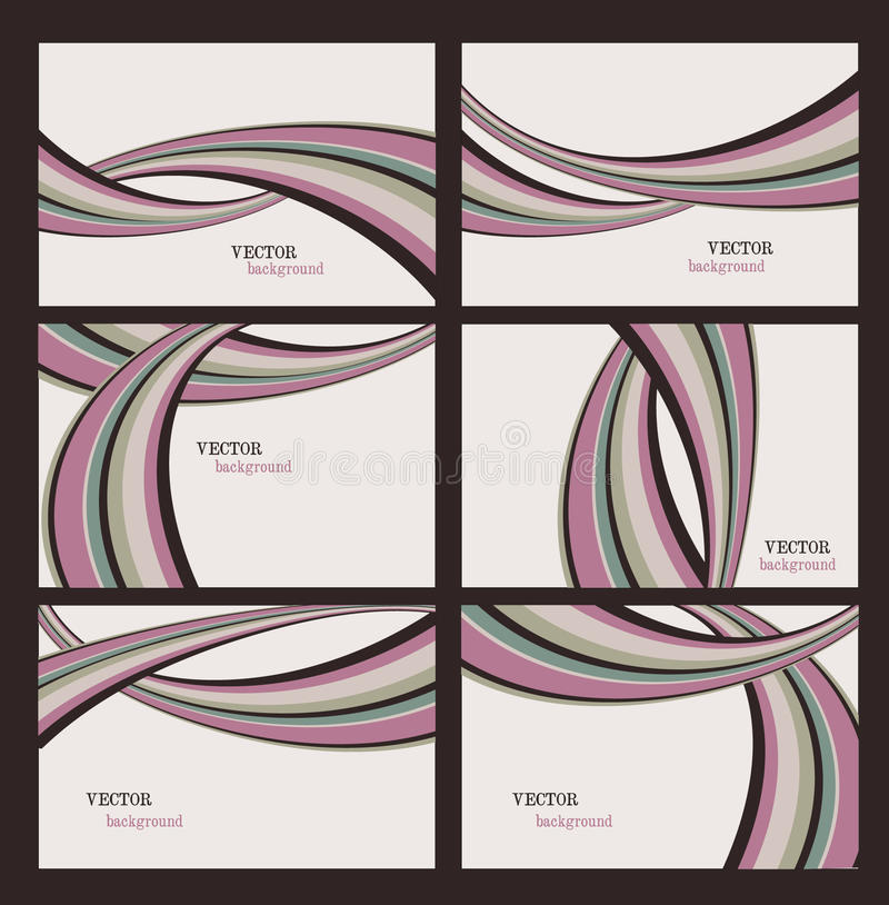 Download Vector Stripes Backgrounds stock vector. Illustration of composition - 15747080