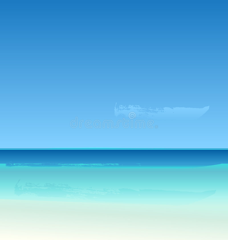 Free Vector Summertime At The Beach Royalty Free Stock Photo - 4932215