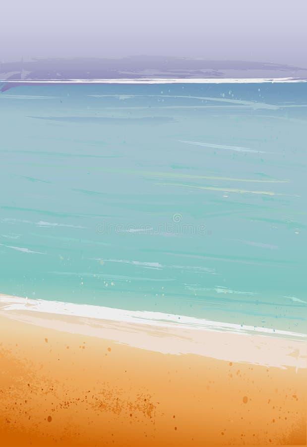 Vector Summertime at the beach vector illustration