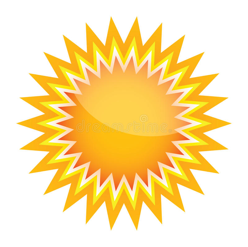 vector sunburst shape stock vector illustration of burst 12792219 rh dreamstime com vector sunburst photoshop vector sunburst free download