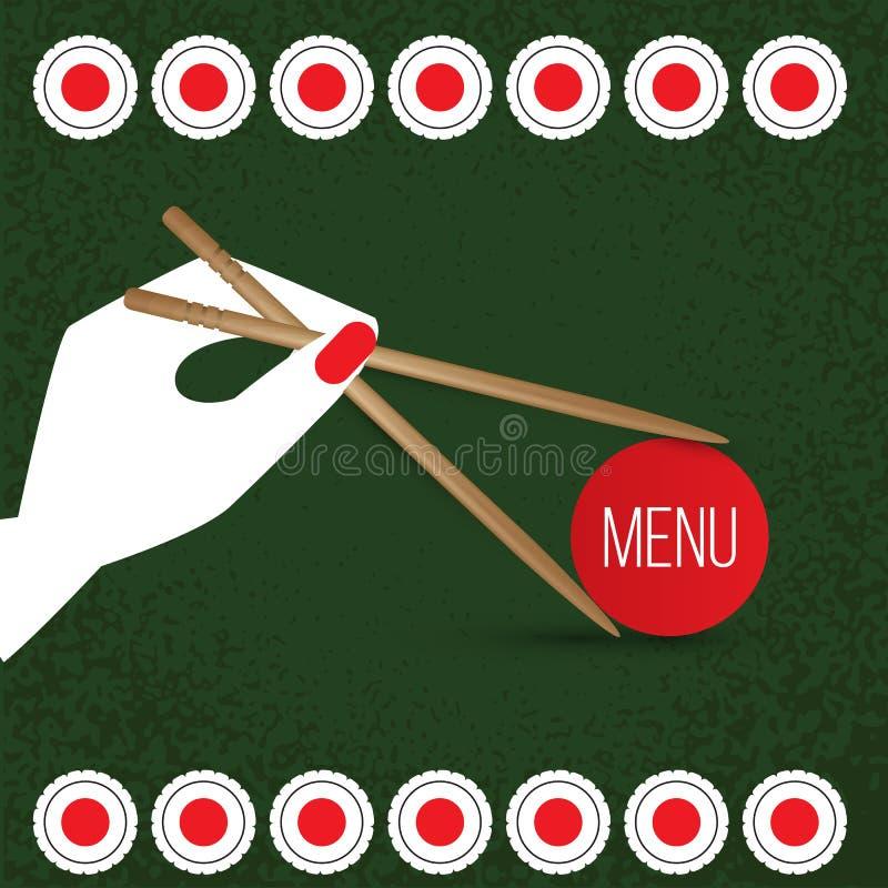 Vector Sushi set. Realistic icon. vector illustration