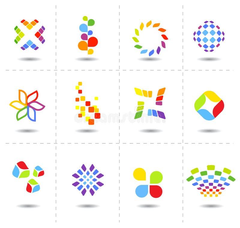 Vector symbolen royalty-vrije illustratie