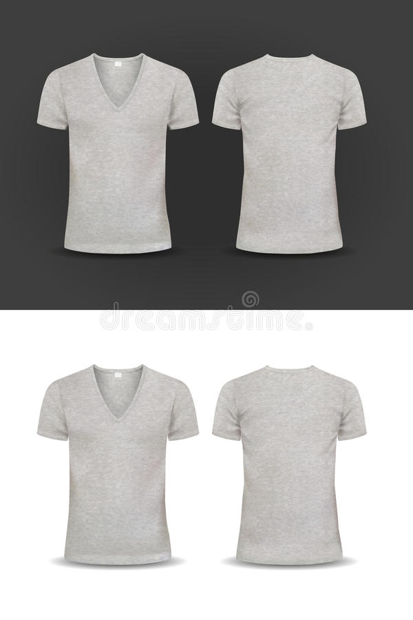 Vector T-shirt, Design Template, Women And Men Stock Vector ...