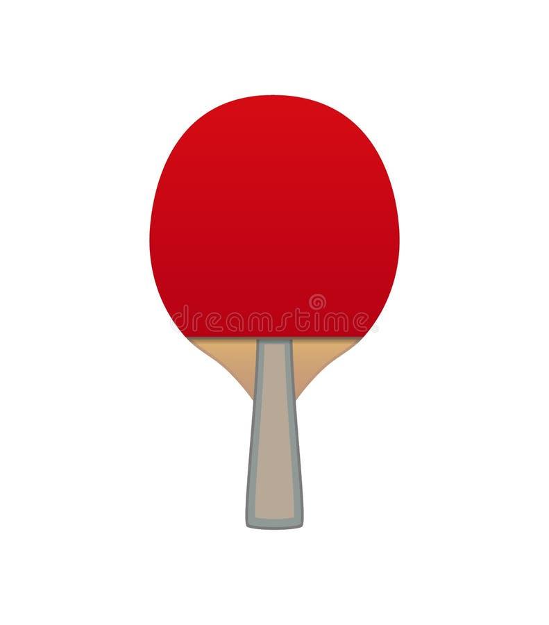 Vector Table tennis bat stock illustration