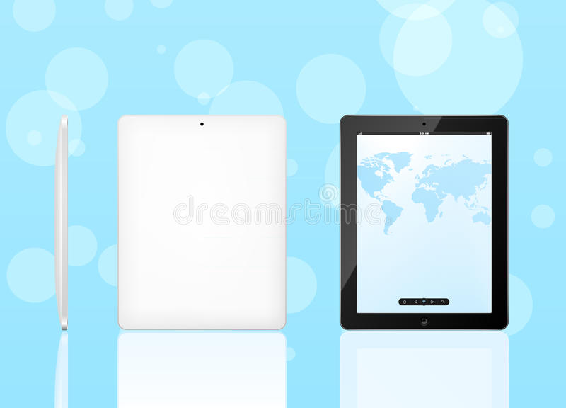 Vector Tablet Computer Royalty Free Stock Images