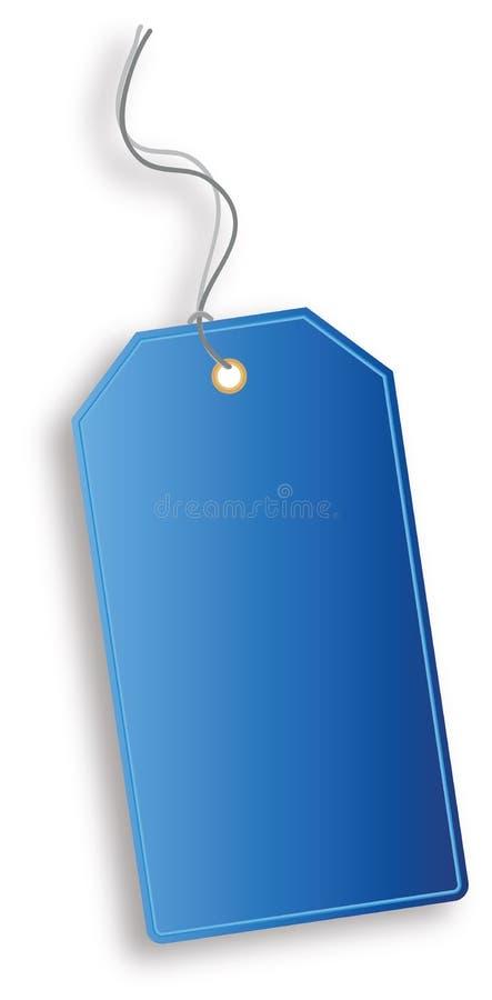 Vector tag stock illustration