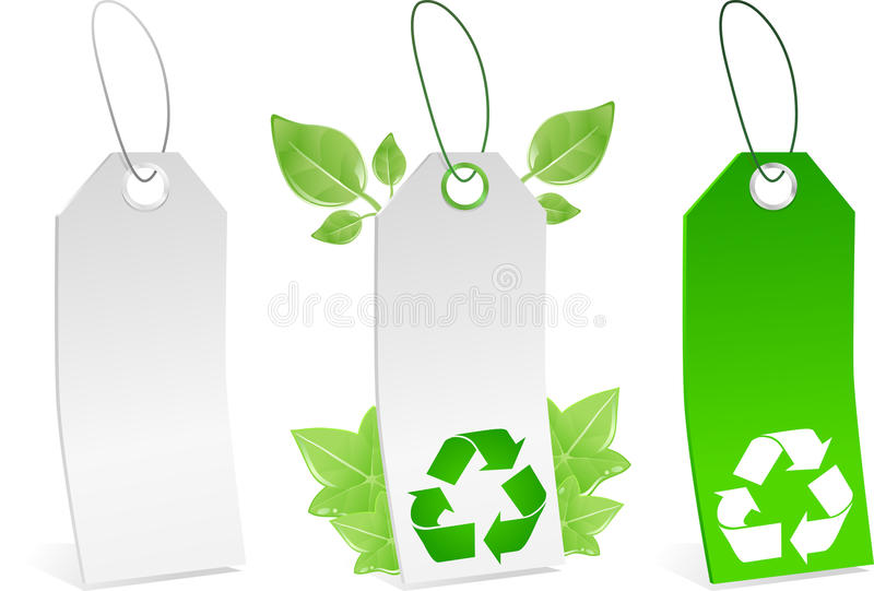 Download Vector Tags stock vector. Image of isolated, blank, recycle - 12547139