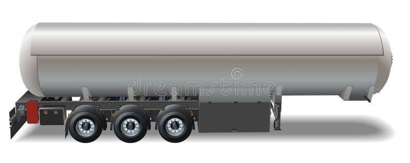 Vector Tankercar vector illustration