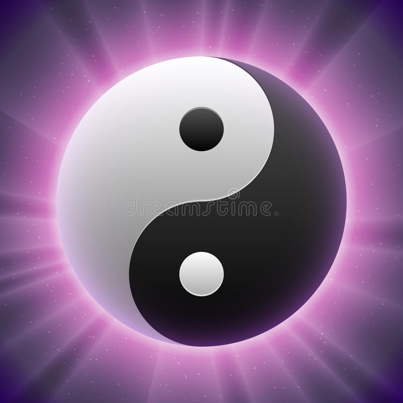 Download Vector Taoist Yin-yang Symbol Stock Vector - Image: 21461664