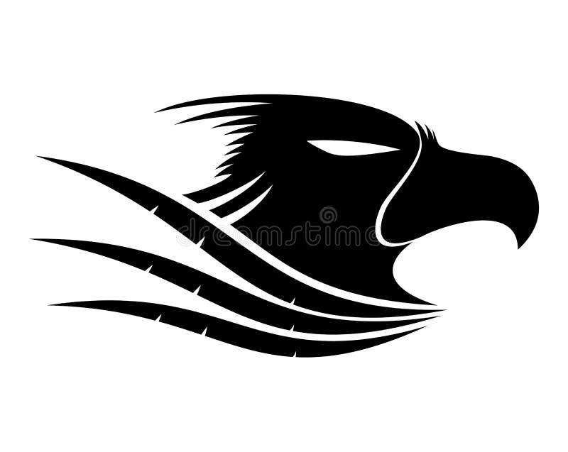 Vector Teken Eagle vector illustratie