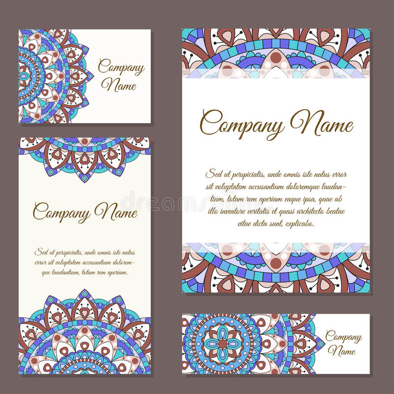 Vector template business card geometric background card or download vector template business card geometric background card or invitation collection islam stopboris Image collections