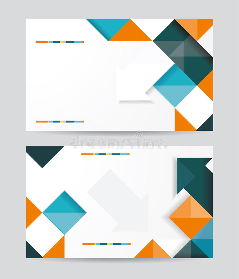 Download Vector Template Design With Cubes And Arrows Eleme Stock Vector - Image: 38235308
