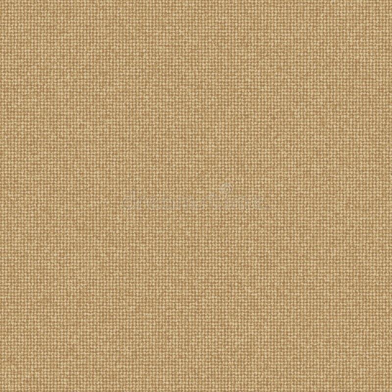Vector a textura de linho natural clara para o fundo ilustração royalty free