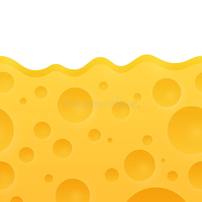 Vector Texture of Cheese royalty free illustration
