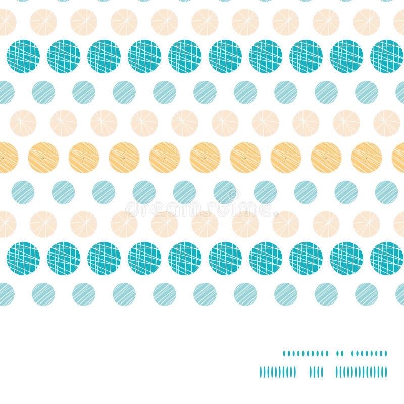 Vector texture circles stripes abstract horizontal vector illustration