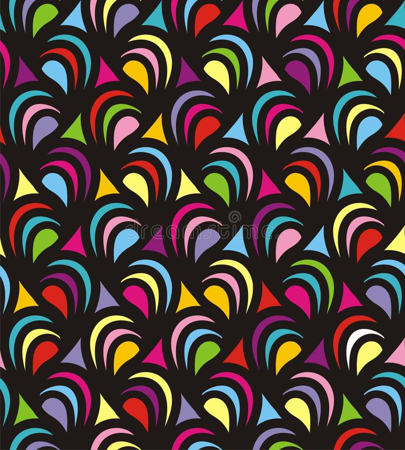 Colorful texture. Vector texture consist of colorful patterns. Vector illustration vector illustration