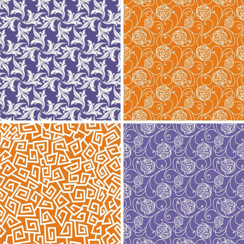 Vector texture. Consist of tracery patterns. Vector illustration royalty free illustration