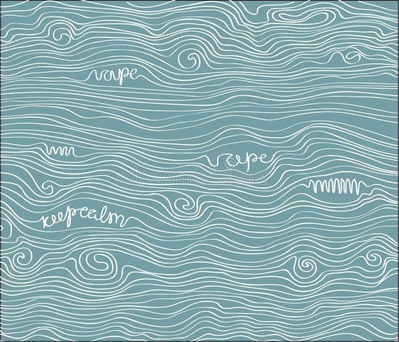 Vector texture vape pattern stock images
