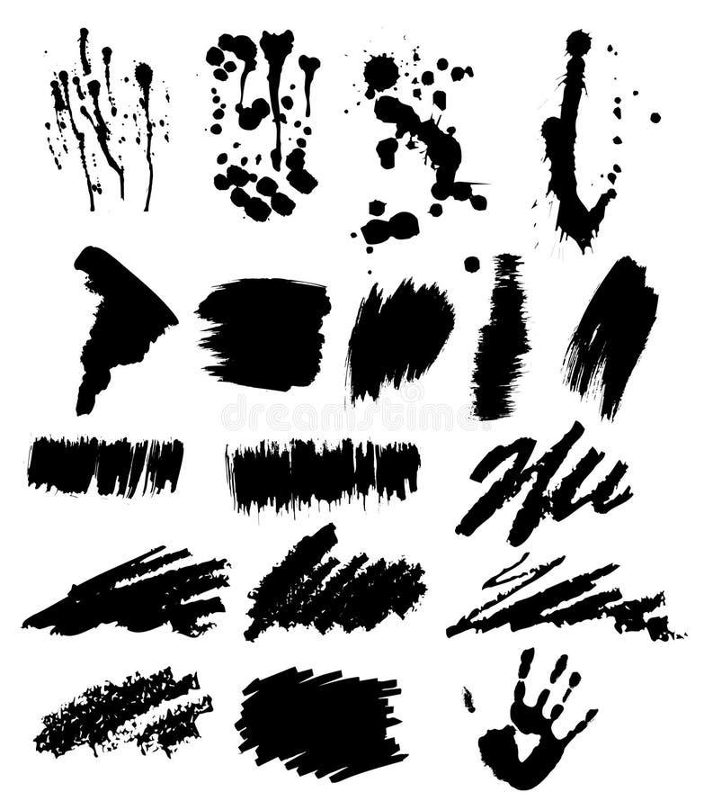 Vector a tinta ilustração royalty free