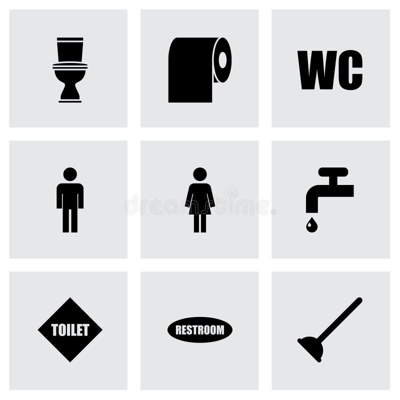 Free Vector Toilet Icon Set Stock Photography - 51885692