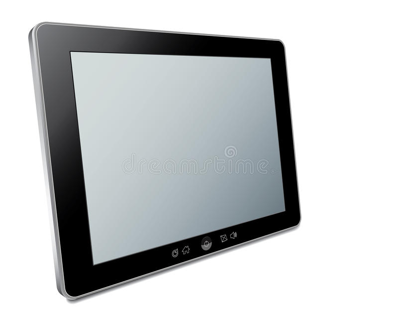 Vector Touch Screen Royalty Free Stock Photography