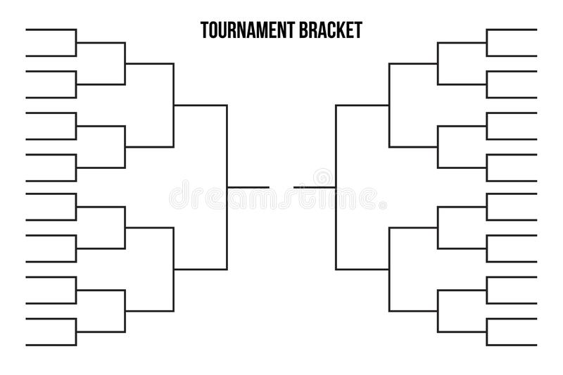Baseball Playoff Bracket Template from thumbs.dreamstime.com