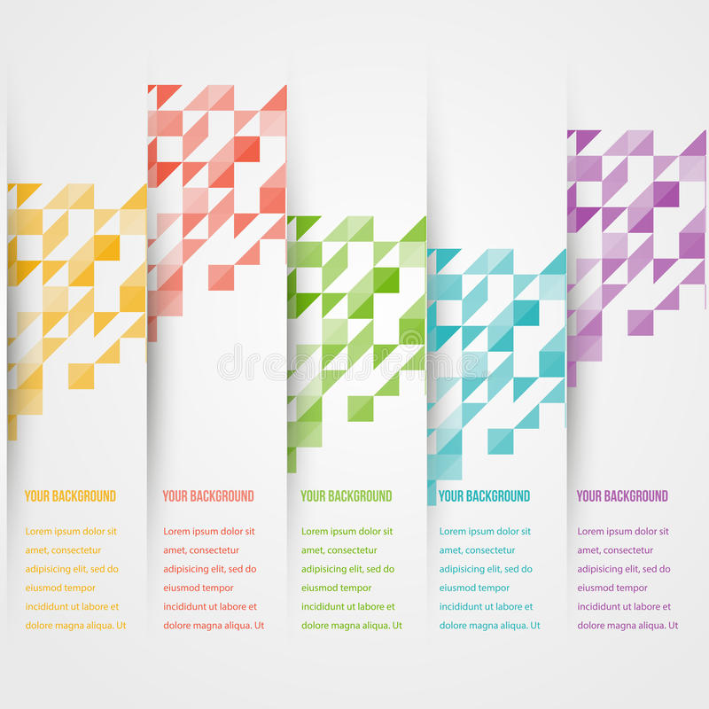 Free Vector Triangle Color 2 5.02.14 Royalty Free Stock Photos - 40865248