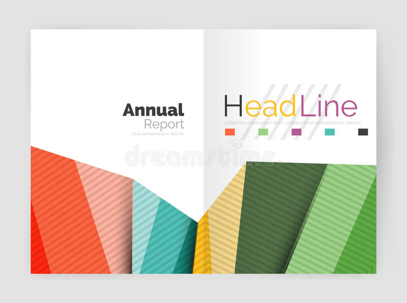 Vector triangle design abstract backgrounds. Vector triangle design abstract background, business annual report templates vector illustration