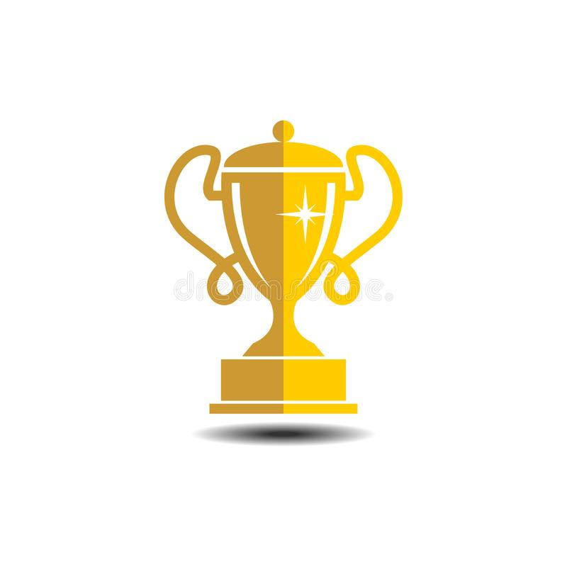 Vector Trophy Illustration Icon Modern Symbol For Graphic And Web Design Simple Sign Logo App UI
