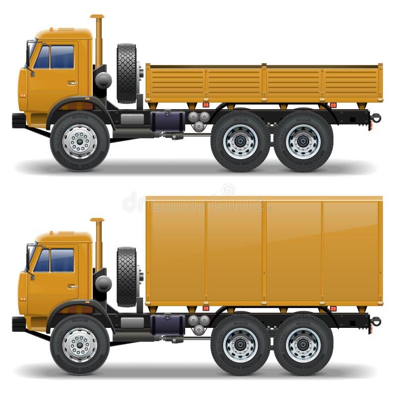 Free Vector Trucks Set 1 Royalty Free Stock Photography - 32263257
