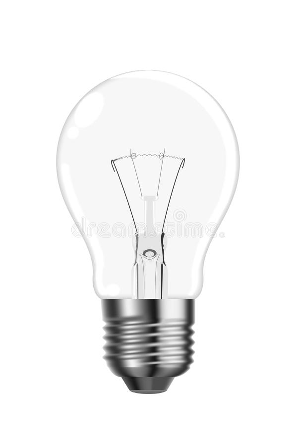 Free Vector Tungsten Lightbulb Royalty Free Stock Images - 12788849