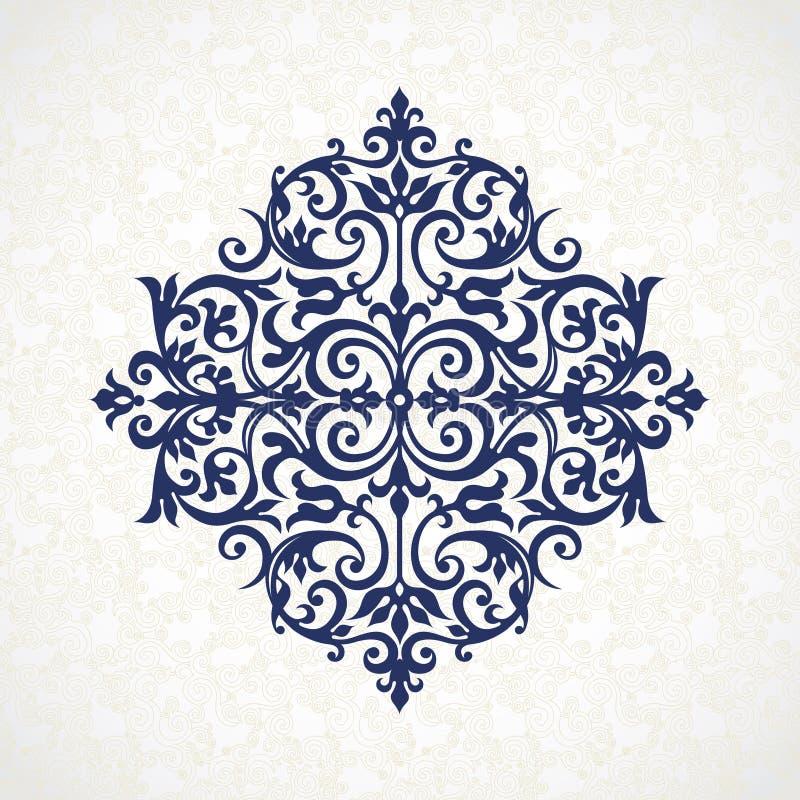 Vector uitstekend patroon in Victoriaanse stijl vector illustratie
