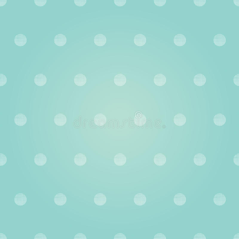 Vector Uitstekende de Jongenspolka Dots Circles Seamless Pattern Background van de Pastelkleur Roze Baby royalty-vrije illustratie