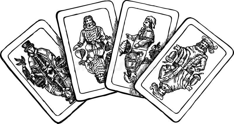 Download Cartão dos reis ilustração do vetor. Ilustração de esboço - 29833115