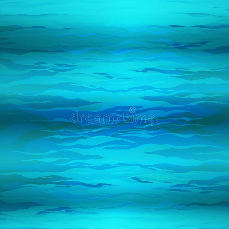 Vector Unterwasserhintergrund des abstrakten Dreiecks, abstrakte Beschaffenheit, blaues Wasser vektor abbildung