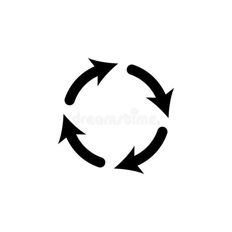 Vector update icon. Vector illustration stock illustration