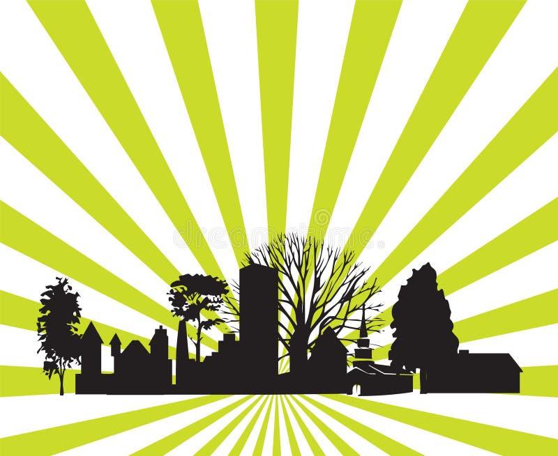 Vector urbano. libre illustration
