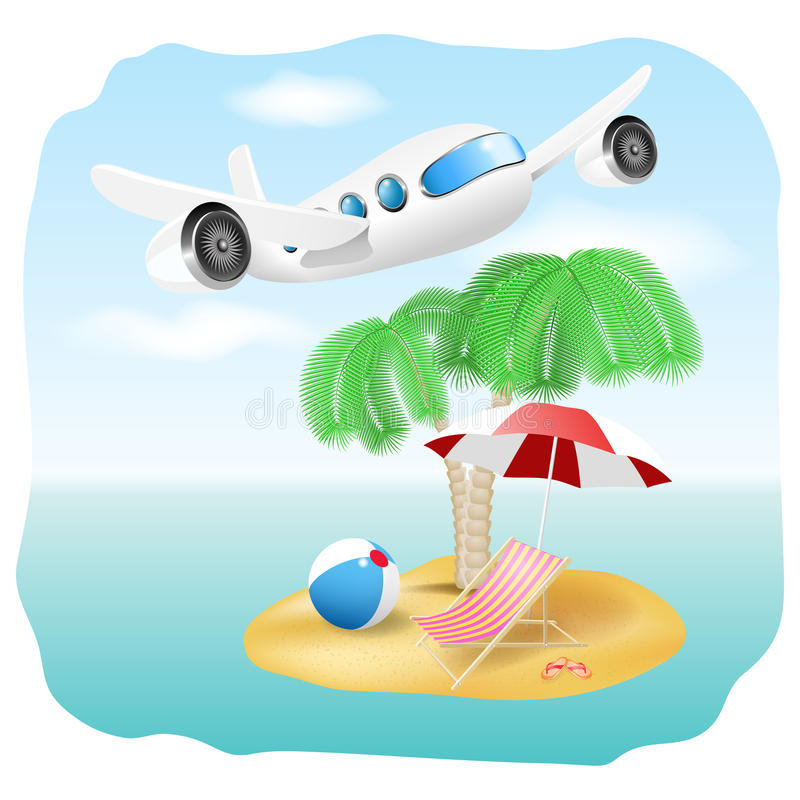 Download Vector Vacation Illustration Stock Vector - Image: 32524350