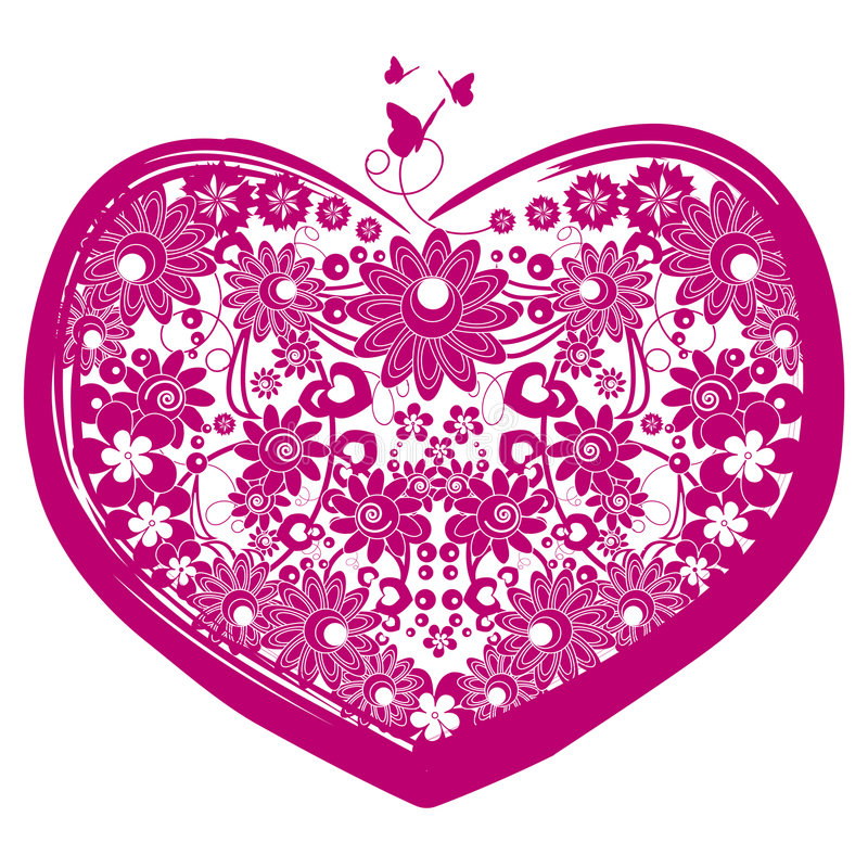 Download Vector valentine heart stock vector. Image of isolated - 7591018