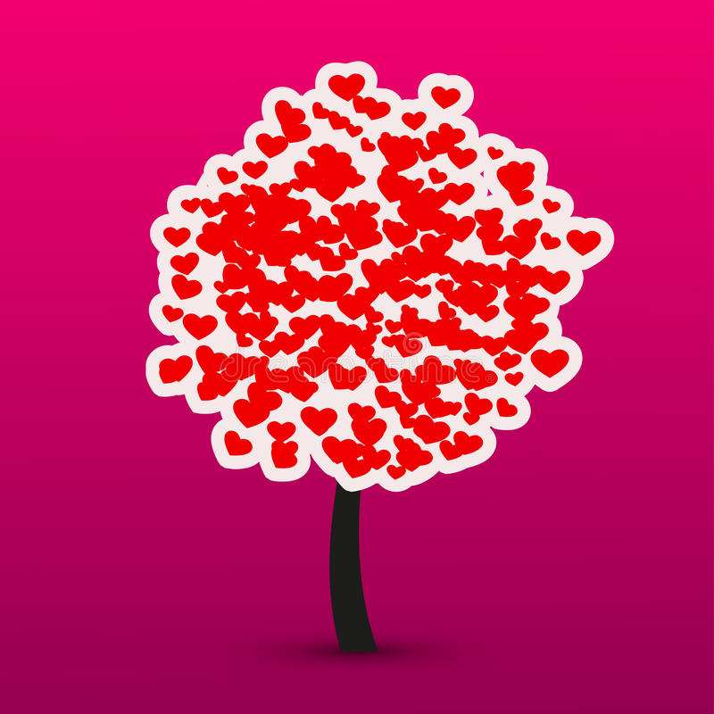 Vector valentines day background. Eps10. See my other works in portfolio stock illustration