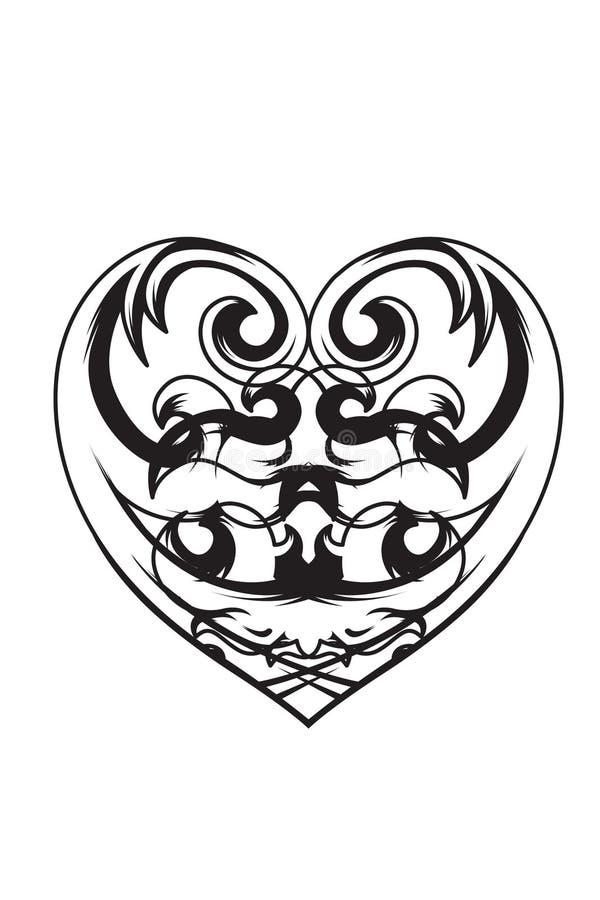 Love Vector Valentines Day illustration 21 royalty free illustration
