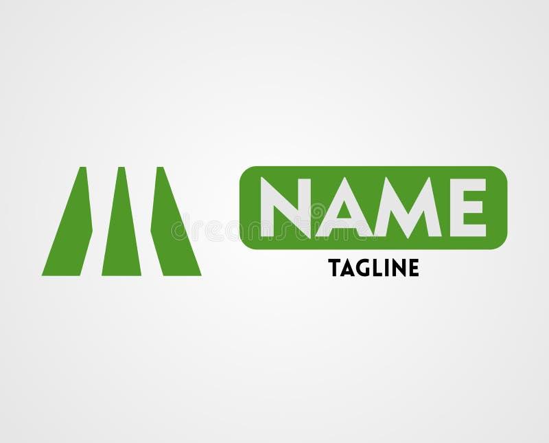 Vector van Brief M Logo Design vector illustratie
