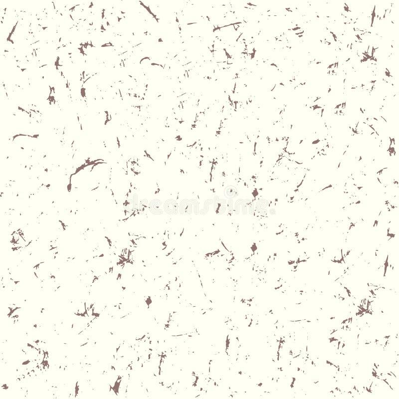 Vector van de Grunge de naadloze textuur stock illustratie
